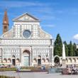 Santa Maria Novella Florence Italy — Stock Photo