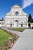 Santa Maria Novela Florence Italy — Stock Photo