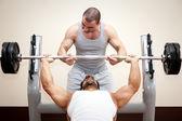Bodybuilding man — Stockfoto