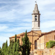 Pienza Church — Stock Photo