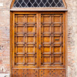 Stock Photo: Door Siena