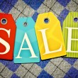 Sales tags — Stock Photo #36494455