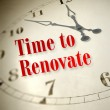 Stock Photo: Time to renovate