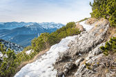 Herzogstand in the Alps of Bavaria Germany — Stock Photo