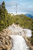 Herzogstand in the Alps of Bavaria Germany — Stock Photo