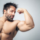 Bodybuilding man — Foto de Stock