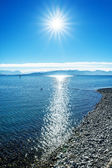Lake constance alps — Stock Photo