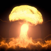 Nuclear bomb — Stock Photo