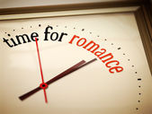 Time for romance — Stock Photo