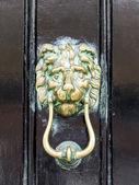 黄铜门环 — 图库照片