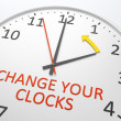 Change Your Clocks — Stock Photo #45202371