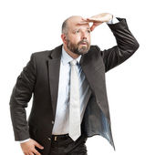 Businessman seeking — Stock Photo