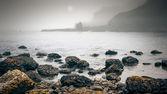 Ireland Coast Fog — Stock Photo