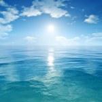 Blue sky ocean — Stock Photo #49046025