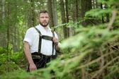 A traditional bavarian man — Stock fotografie