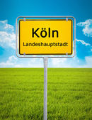 City sign of Koln — Stock Photo