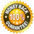 Money back guarantee — Stock Photo #49199603