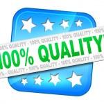 Quality guarantee — Stock Photo #49220899