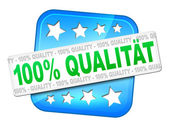 Quality guarantee — Stock Photo