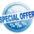 Special offer sign — Stock Photo #49364049