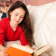 Girl with a book — Stock Photo #51108655