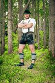 Hombre tradicional bávara — Foto de Stock