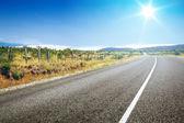 Road to horizon — Stock Photo