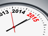 Time for 2015 — Stock Photo