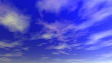 Clouds (seamless loop) — Stock Video