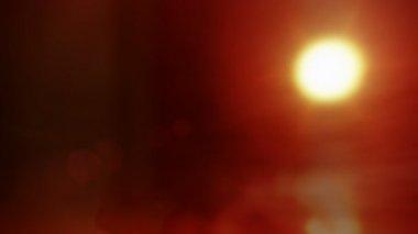 Zonsondergang cloudscape — Stockvideo