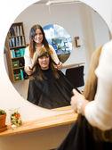 Beauty salon situation — Stock Photo