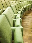 Spectators seats — Stock Photo