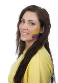 Columbian Girl — Stock Photo