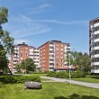 Apartment Buildings — Stock Photo