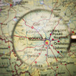 Moscow map — Stock Photo #7839008