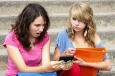 En línea o cyber bullying concepto — Foto de Stock