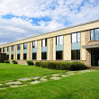 Small business building or school perspective shot - Stock Photo