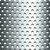 Modello di griglia metallica inossidabile senza giunte — Vettoriale Stock