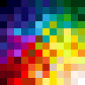 Colorful pixels — Stock Vector