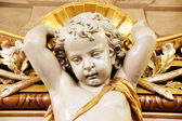 Plaster cherub detail — Stock Photo