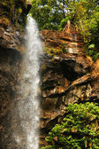 Sacred waterfall of tropical forest — Stock Photo