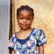 Sweet little African girl — Stock Photo