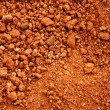 Red earth or soil background — Stock Photo #21692707