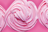 Pink frosting on cupcake — Stock Photo