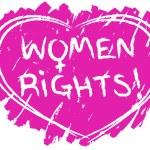 Women rights symbol — Stock Vector #23310844