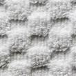 White towel macro — Stock Photo #25260321