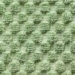 Green towel macro — Stock Photo