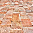 Paver perspective — Stock Photo