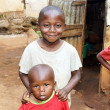 African kids at home — Stockfoto