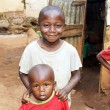 African kids at home — Foto Stock